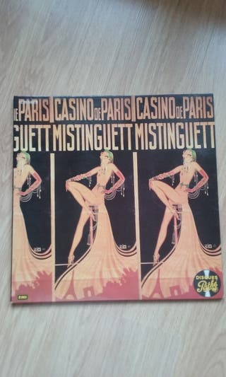 Doble Lp vinilo. Music hall . Mistinguett.