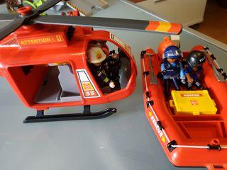 Playmobil, Helicóptero de rescate, nuevo