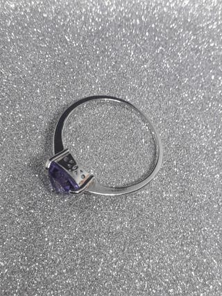 Jewelrypalace Genuine Amethyst Solitaire 925S.S