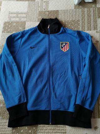 Sudadera chaqueta Atlético de Madrid.