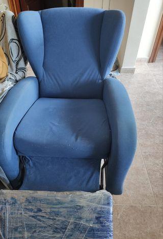 sillón reclinable.