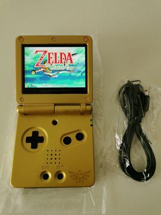 Game Boy Advance SP pantalla IPS