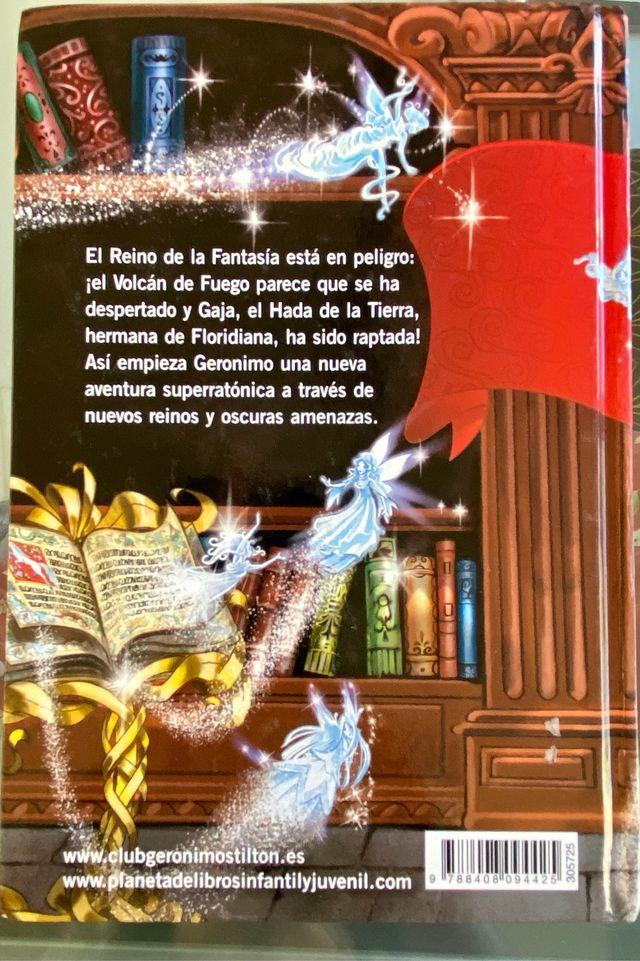 5° viaje al reino de la fantasía, Geronimo stilton