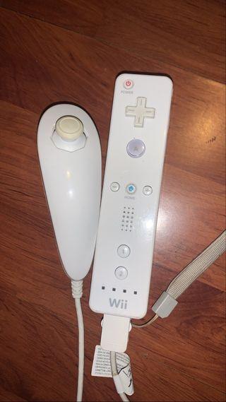 Mando Wii + Mando Nunchuk