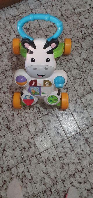 andador fhicher play poco uso