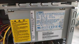 HP Compaq sin disco duro