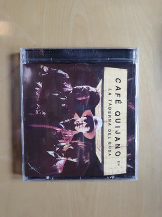 Se vende CD de Café Quijano, La taberna de Buda