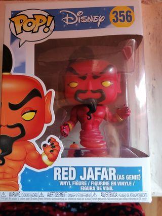 Figura vinilo Red Jafar 356. Pop Disney