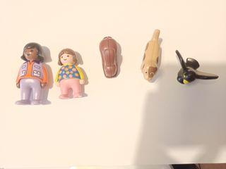 Playmobil 1 2 3. 3 animales 2 muñecos