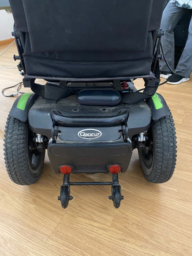 Silla de ruedas quicke QR200R