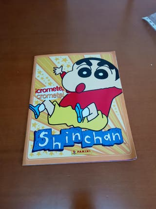 Album cromos Shinchan.