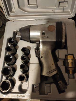 Pistola llave neumatica
