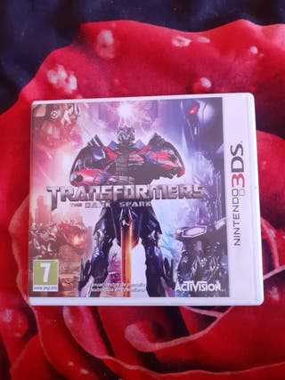 Transformers Nintendo 2DS y 3DS y Dragon ball 3ds