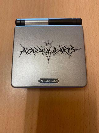 Game Boy advance sp kingdon hearts