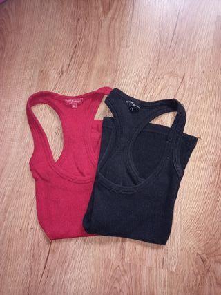 2 Camisetas de tirantes