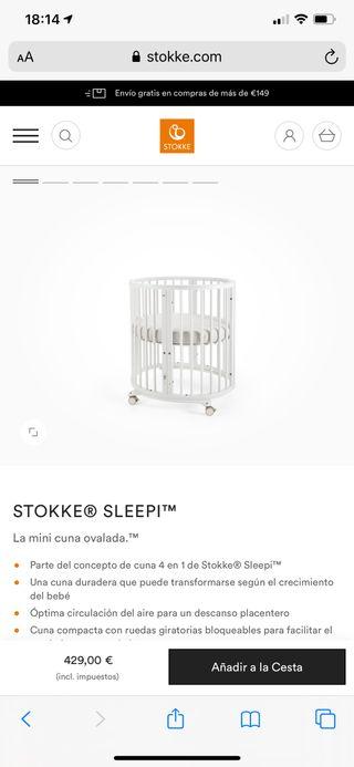 Mini cuna pack Stokke