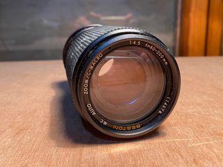 Objetivo 80-200mm Macro Canon FD