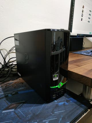 Mini PC eMachines Intel Q6600 4GB 320GB Nvidia 315