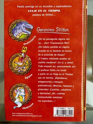 Viaje en el tiempo, Geronimo Stilton
