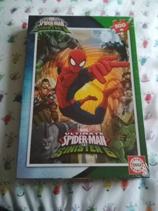 Puzzle 500 pezas Spiderman