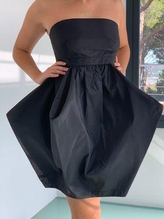 Vestido negro Bombón