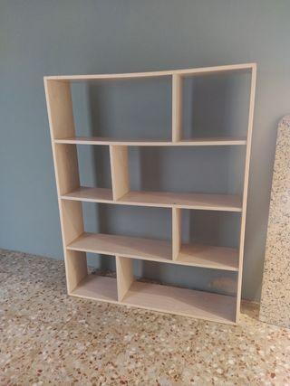 estantería 148x120 mueble decoración librería