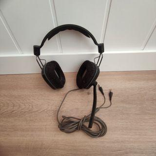 Cascos auriculares para gaming.
