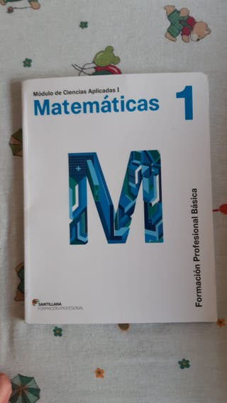 Libro matemáticas 1. FPB