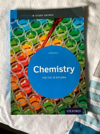 Libro Quimica para bacchillerato internacional.