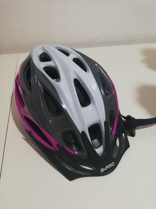 casco bici ajustable