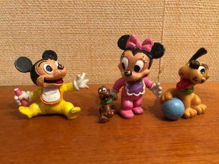Muñecos/ Figuras Disney Mickey Mouse Bebe 80s