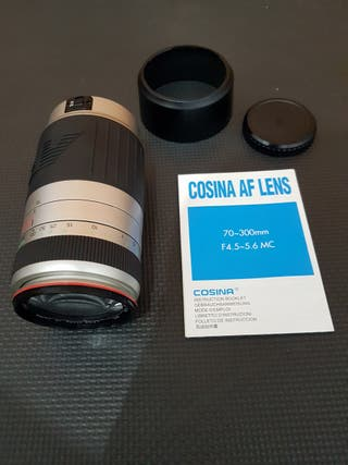 Objetivo COSINA AF Lens 70-300mm F4.5-5.6 MC