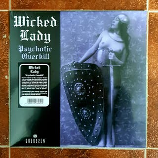 WICKED LADY -Psychotic Overkill- 2LP Vinilo