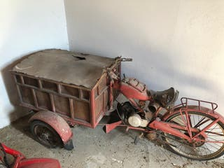 Moto Guzzi muy antigua!!