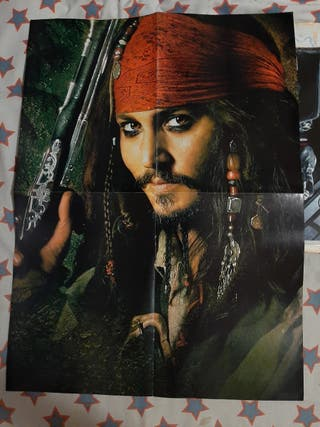 Lote Carteles Johnny Depp y Tim Burton