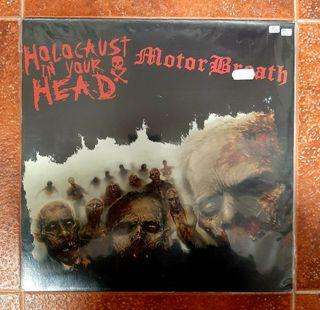 HOLOCAUST IN YOUR HEAD & MOTORBREATH LP Vinilo