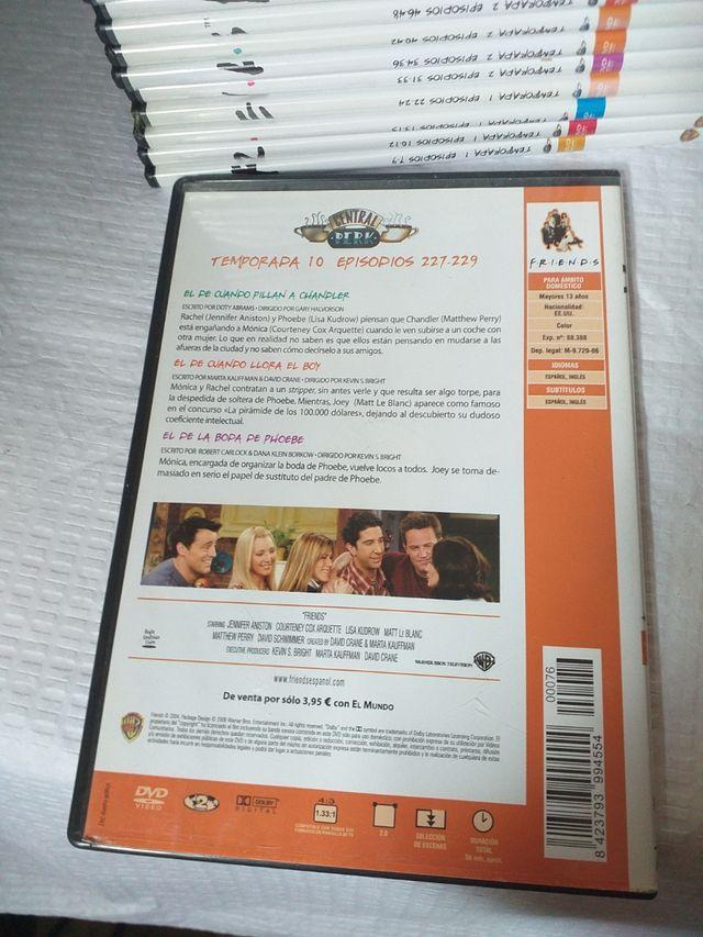 37 DVD serie friends