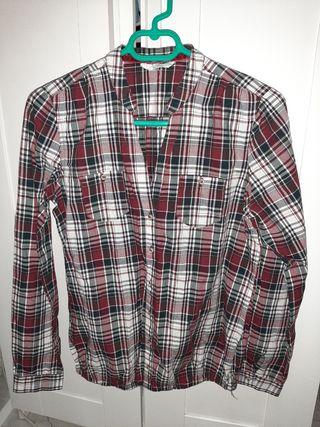 camisa de cuadros chica