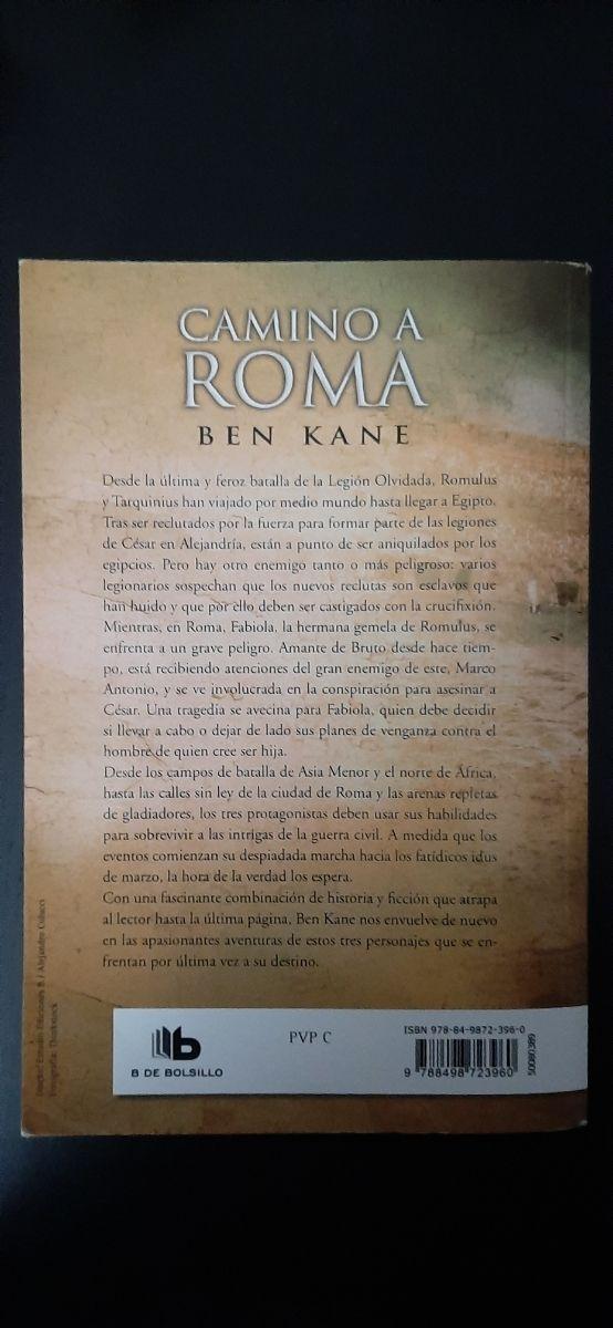 libro camino a roma