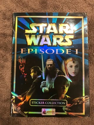 Album cromos Star Wars 1
