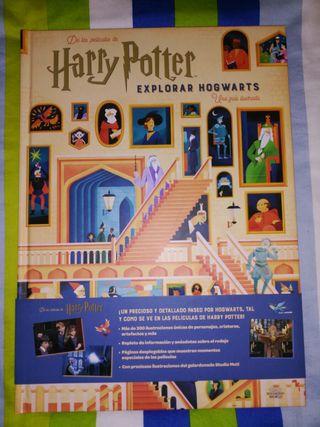 Libro Harry Potter explorar Hogwarts nuevo