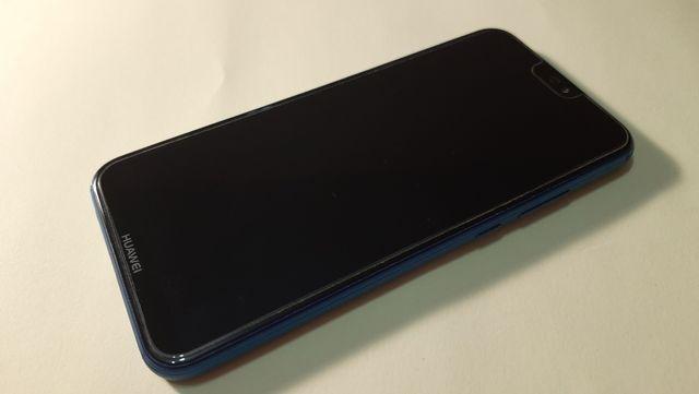 Huawei P20 Lite azul + funda