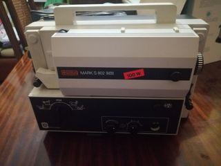 Proyector 8mm marca Eumig Mark 810