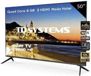 "SMART TV 50"" LED 4K ULTRA HD TD SYSTEM K50DLJ10US"