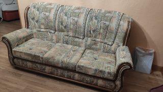Sofá de 3 plazas (más sillón de regalo)