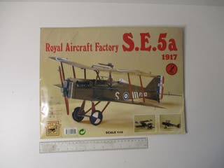KIT RECORTABLE 1/14 AVIÓN S.E 5a 1917 KIT AÑO 1991