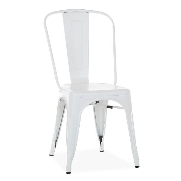 2 X Silla Industrial Terek Blanco