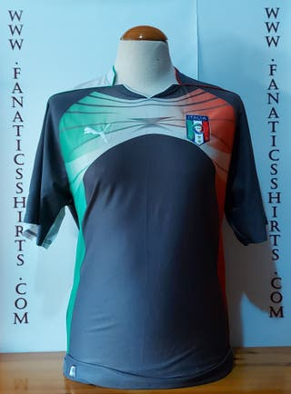 #1 Buffon Seleccion Italy 2011 Goalkeeper Camiseta