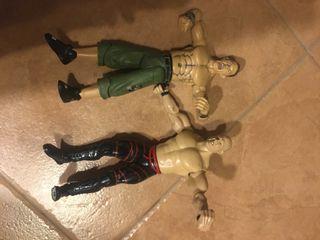 Pack de muñecos lucha libre WWE