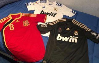 Pack Camisetas fútbol colección